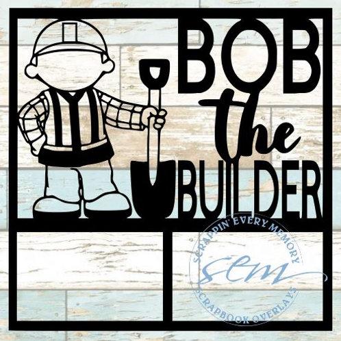 Bob The Builder Scrapbook Overlay