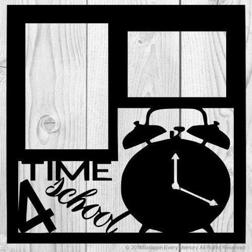 Time 4 School Scrapbook Overlay
