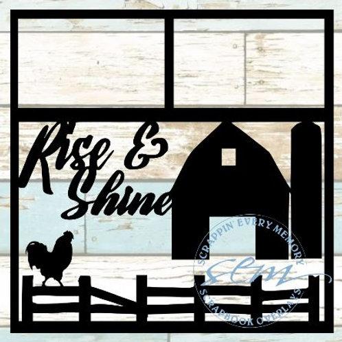 Rise & Shine Scrapbook Overlay