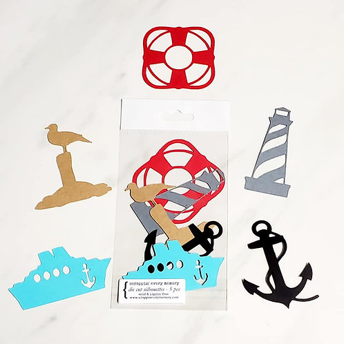 Cruise Die Cut Silhouette Mini Set
