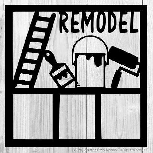 Remodel Scrapbook Overlay