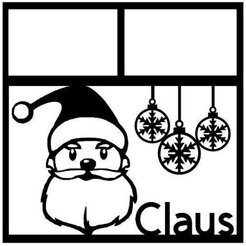 Claus Scrapbook Overlay