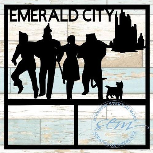 Emerald City Scrapbook Overlay