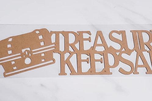 Treasured Keepsake Scrapbook Deluxe Die Cut