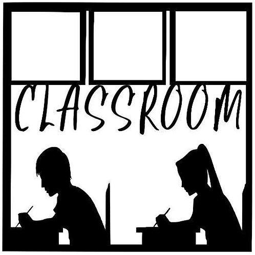 Classroom Scrapbook Overlay