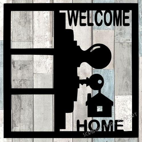 Welcome Home Scrapbook Overlay