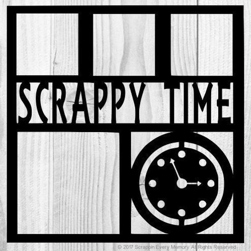 Scrappy Time Scrapbook Overlay