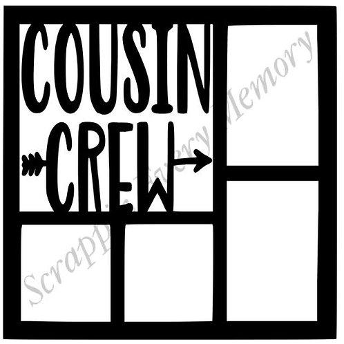 Cousin Crew Scrapbook Overlay