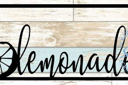 Lemonade Scrapbook Title