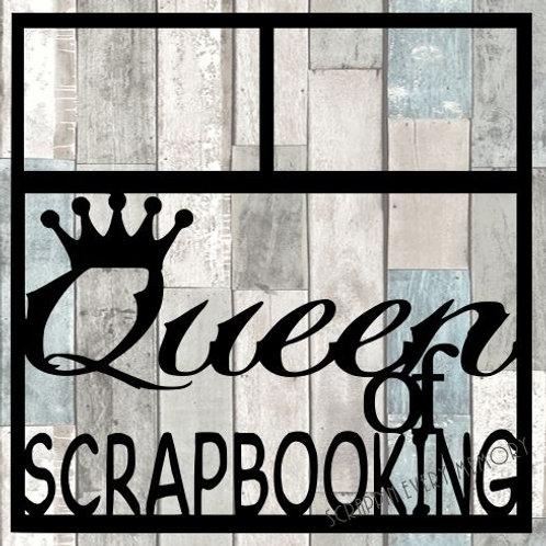 Queen Of Scrapbooking Scrapbook Overlay