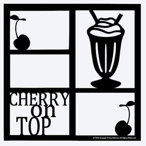 Cherry On Top Scrapbook Overlay