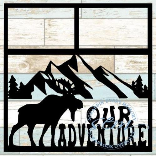 Our Adventure Scrapbook Overlay