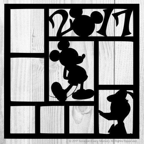 Mickey 2017 Scrapbook Overlay