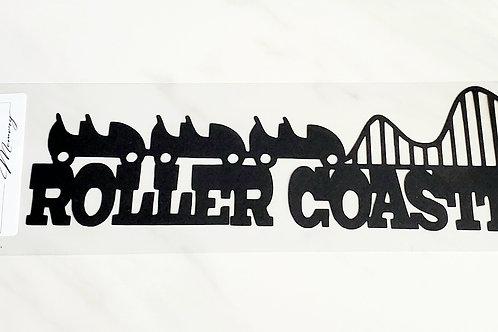Roller Coaster Scrapbook Deluxe Die Cut