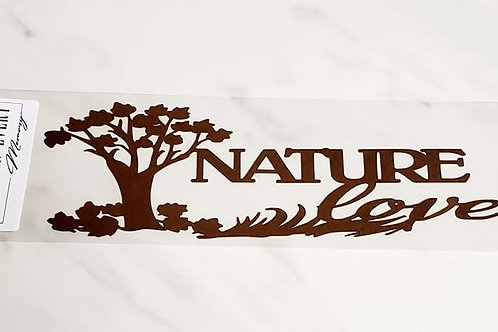 Nature Lover Scrapbook Deluxe Die Cut