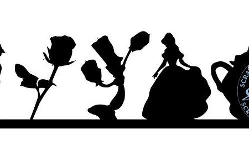 Beauty and the Beast Scrapbook Border