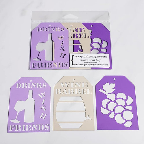 Drinks With Friends Deluxe Word Tags