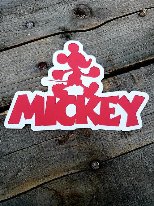 Mickey Paper Piecing Die Cut