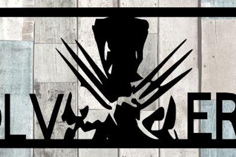 Wolverine Scrapbook Title