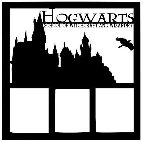 Hogwarts Scrapbook Overlay