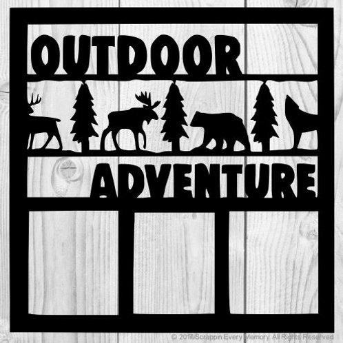 Outdoor Adventure Scrapbook Overlay