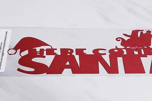 Here Comes Santa Scrapbook Deluxe Die Cut