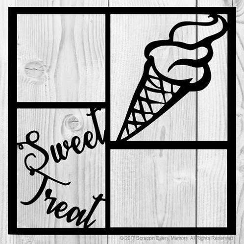Sweet Treat Scrapbook Overlay