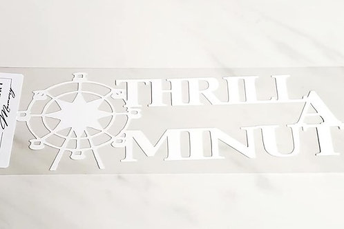 Thrill A Minute Scrapbook Deluxe Die Cut