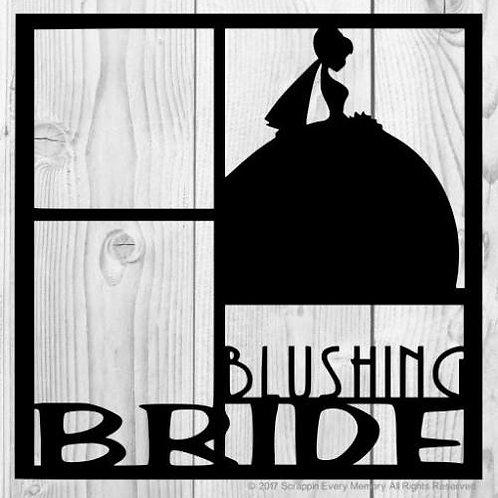 Blushing Bride Scrapbook Overlay