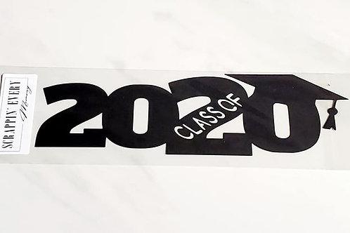 Class Of 2020 Scrapbook Deluxe Die Cut