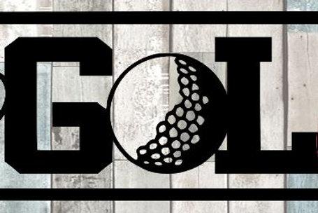 I Love Golf Scrapbook Title