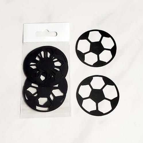 Soccer Ball Itsy Bitsy Embellishments