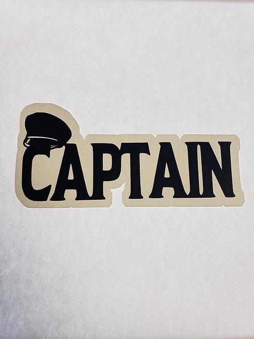 Captain Paper Piecing Die Cut