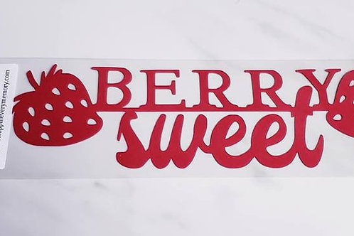 Berry Sweet Scrapbook Deluxe Die Cut