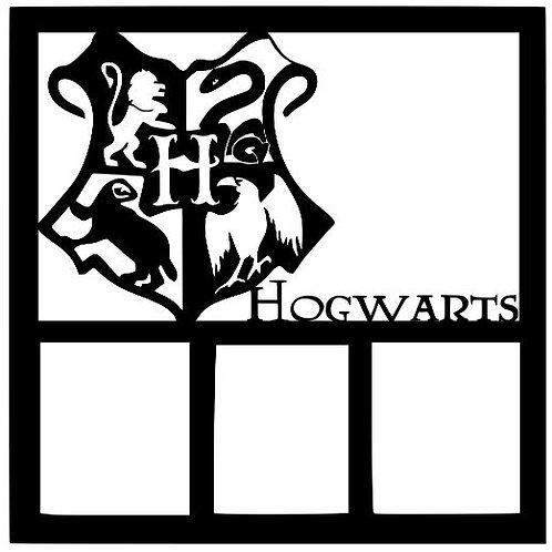 Hogwarts Crest Scrapbook Overlay