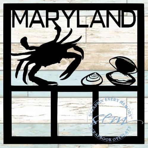 Maryland Scrapbook Overlay