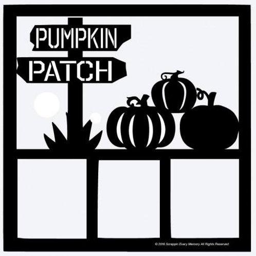 Pumpkin Patch Scrapbook Overlay