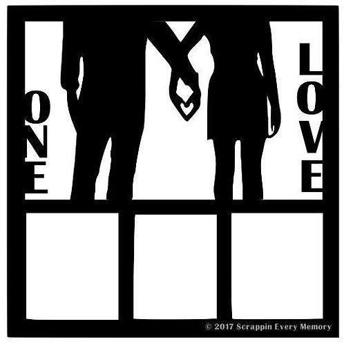 One Love Scrapbook Overlay