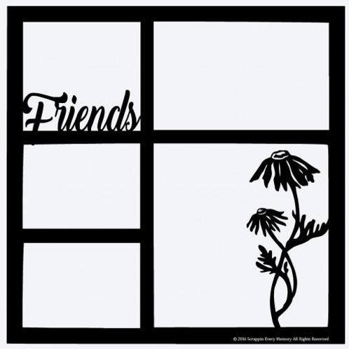 Friends Scrapbook Overlay