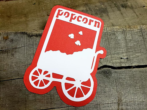 Popcorn Paper Piecing Die Cut