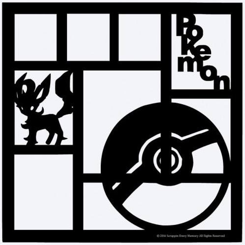 Pokemon Scrapbook Overlay