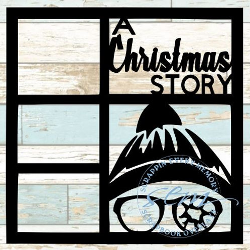 A Christmas Story Scrapbook Overlay