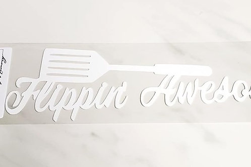 Flippin' Awesome Scrapbook Deluxe Die Cut