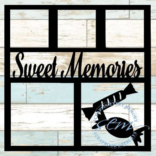 Sweet Memories Scrapbook Overlay