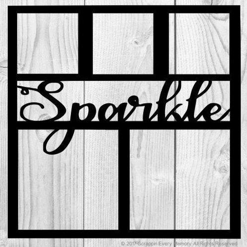 Sparkle Scrapbook Overlay
