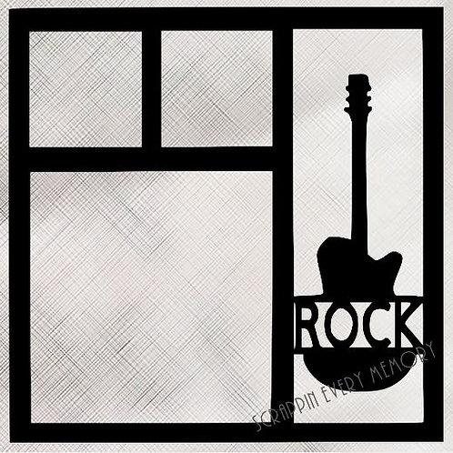 Rock Scrapbook Overlay