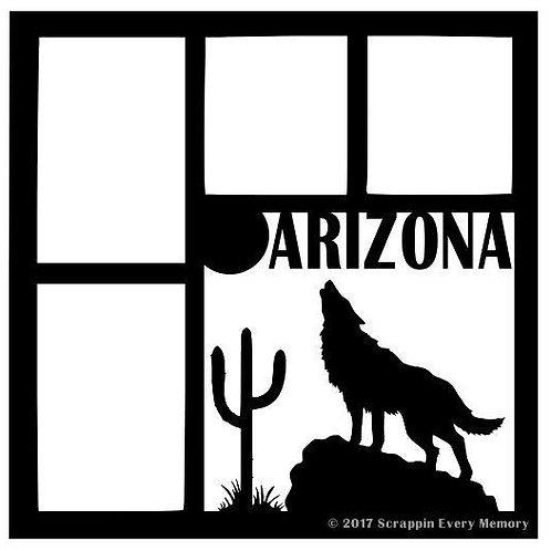Arizona Scrapbook Overlay