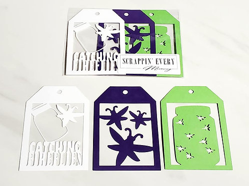 Catching Fireflies Deluxe Word Tags