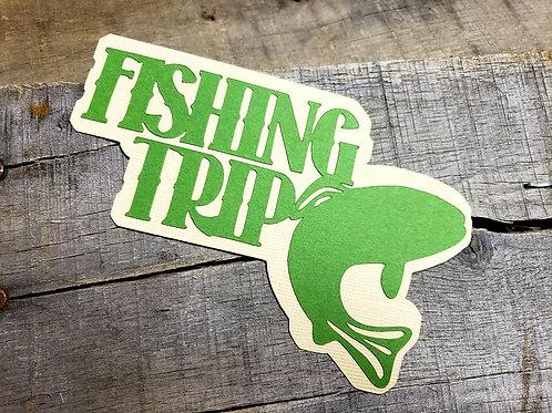 Fishing Trip Paper Piecing Die Cut