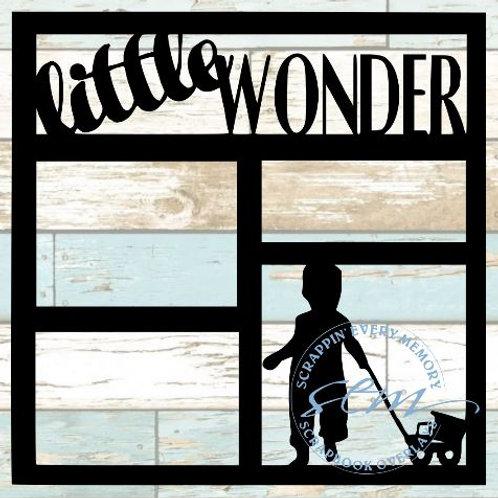 Little Wonder Scrapbook Overlay